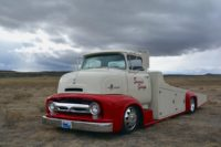 Suzy Stuchel's Dream Truck: A Custom 1956 COE Hauler