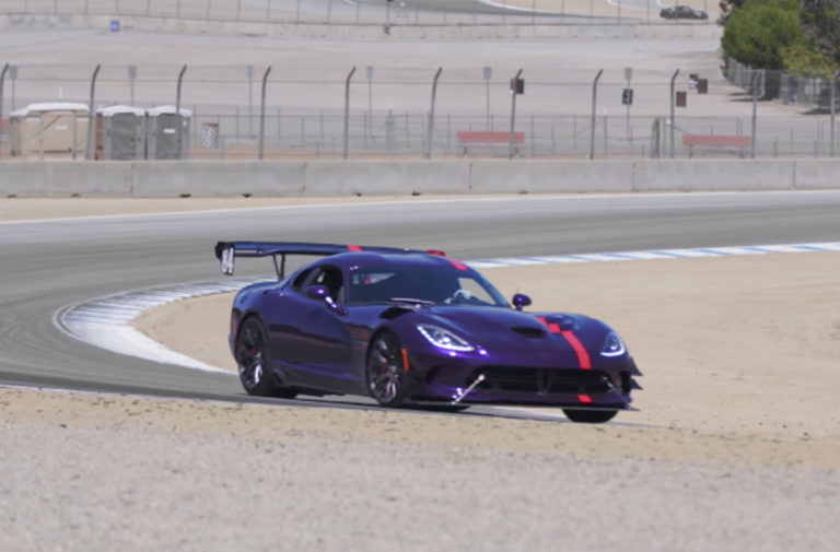 Video: Watch A Dodge Viper ACR 1 of 1 Owners Story