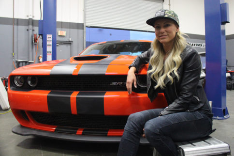 Video: Join NHRA Champ Leah Pritchett And Her Magnaflow Hellcat