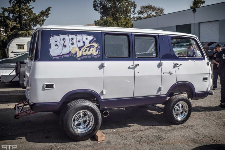 Street Feature: The Boogy Van Packs A Supercharged Big-Block Punch
