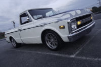 "Street Feature: A 1970 Chevy C10 ""White Flame"""
