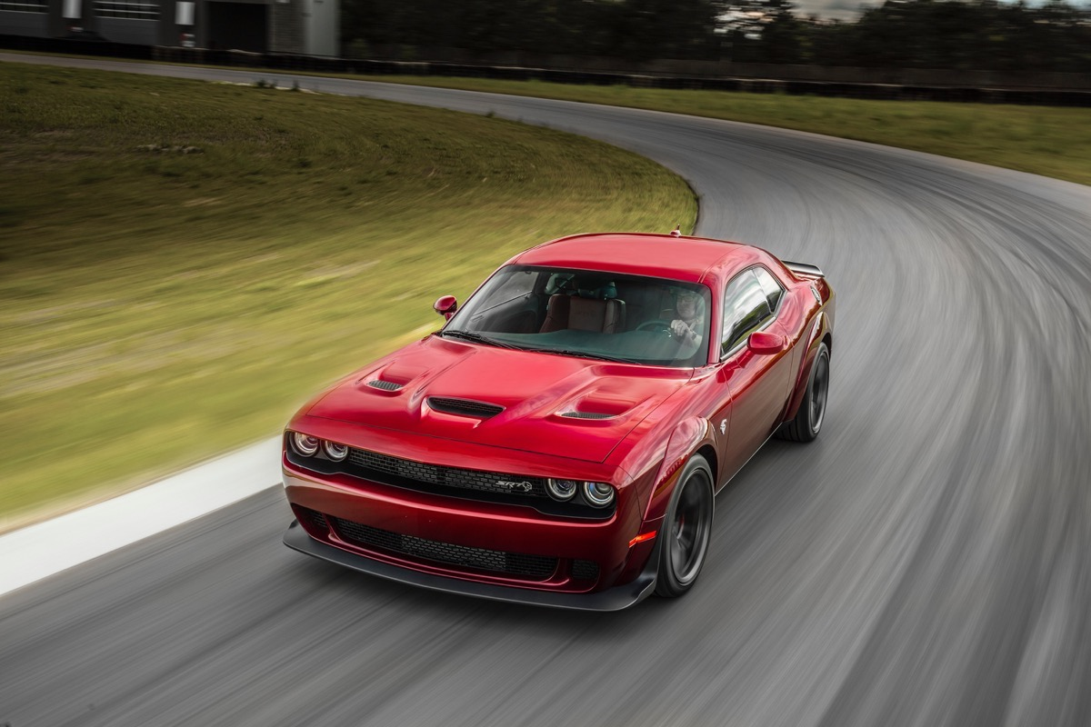 The 2018 Dodge Challenger SRT Hellcat Widebody