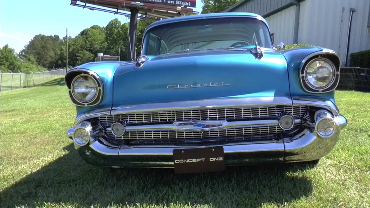 Video: Check Out Darryl Redd's Built-To-Cruise 1957 Chevy 150