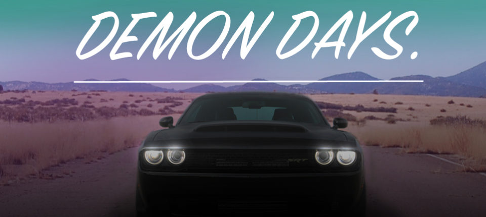 At Speed With The 2018 Dodge Challenger SRT Demon
