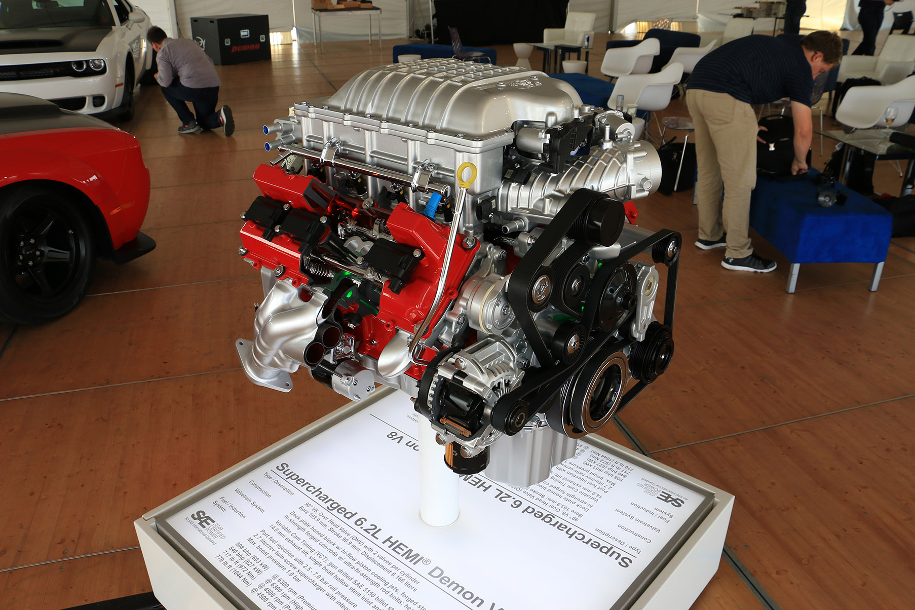 Demon Power: Getting To Know The Most Powerful Production V8 Ever