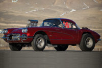 "Dream Garage: ""Big John"" Mazmanian's '61 Corvette Drag Car"