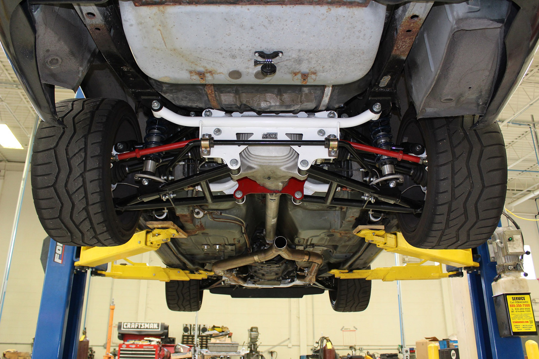 Get Your Fourth-Gen F-Body's Handling Up To Speed With A Heidts IRS