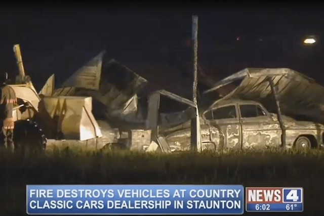 Video:Over 150 Classic Cars Destroyed In Fire At Illinois Dealership