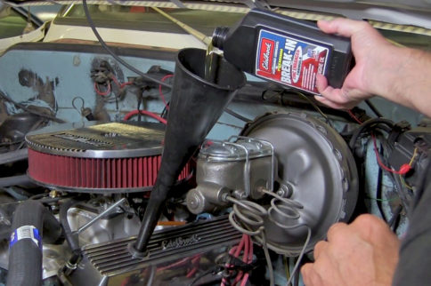 Video: Hydraulic Flat-Tappet Camshaft Break-In With Edelbrock