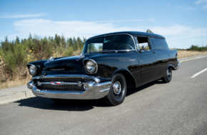 This Old-School 1957 Chevy Sedan Delivery Defines Classic Cool