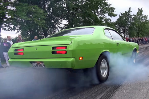 Video: Finnish Muscle Car Cruise and Burnouts – Who Knew?