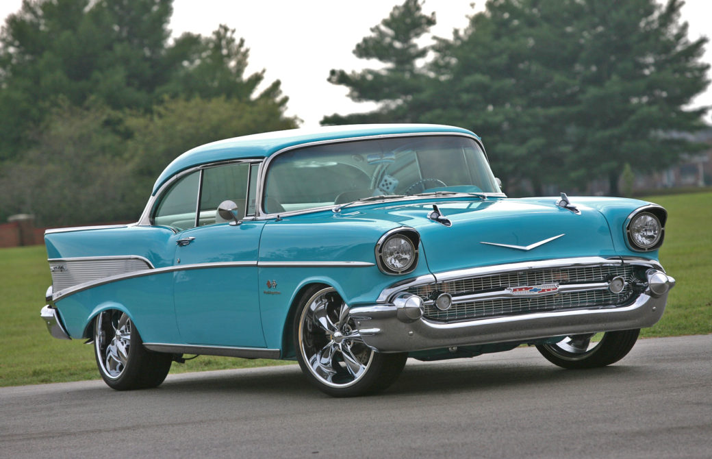 Linsday McLaughlin's Memorable '57 Chevy Blends Both Old And New