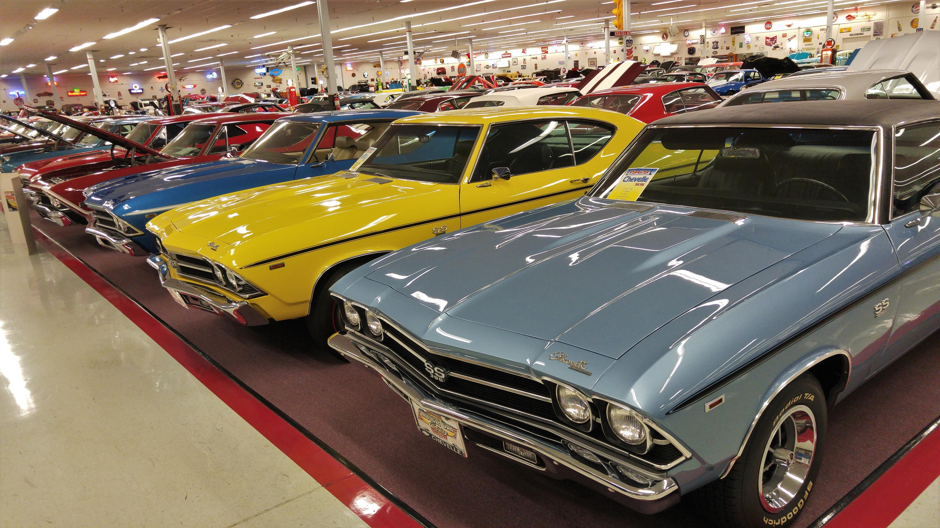 Chevrolet Nirvana: Rick Treworgy's Muscle Car City