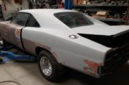 What are you working on: Cake's Mopar Barn-Find