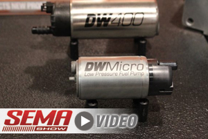 SEMA 2017: DeatschWerks Rolls Out New Pumps, Fittings, And Rails