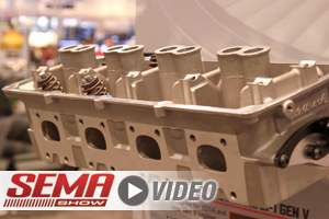 SEMA 2017: Edelbrock Performer RPM Heads for Chrysler Gen III HEMI