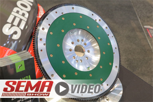 SEMA 2017: Fidanza Reveals Why You Shouldn't Overlook Your Flywheel