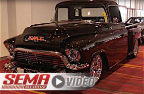 SEMA 2017: Ultra Motorsports 1957 GMC 100 With TCI 4-Link Chassis