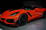 The King Is Alive! 2019 Corvette ZR1 Debuts In Dubai