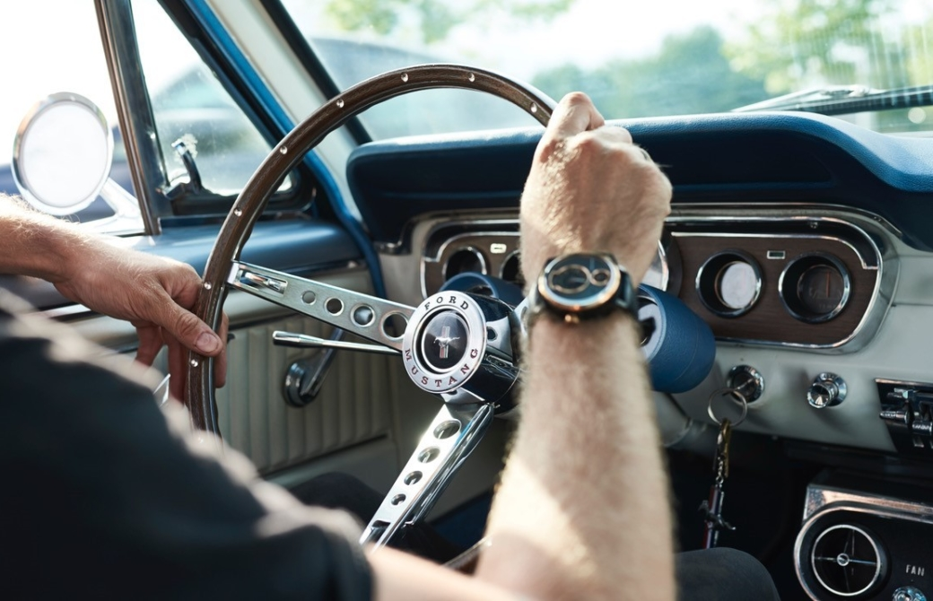 Salvaged 'Stangs Sourced For Special Editon Watches