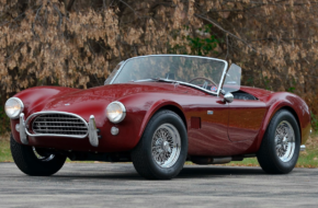 Last 289-Powered Shelby Cobra Ready For Auction