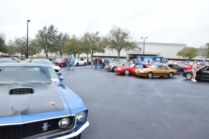 240+ Mustangs Hit The Road On NPD's Pony Trails
