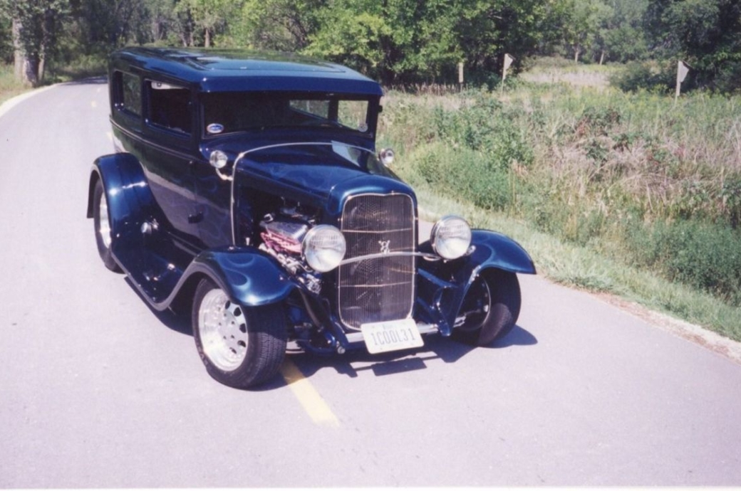 """1931 Ford Tudor Hot Rod Built """"With A Little Help From My Friends"""""""