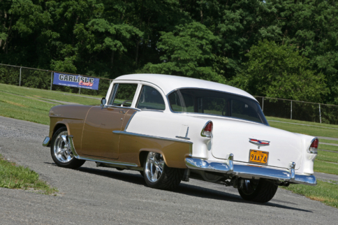 This 1955 Chevy Two-Ten Epitomizes The Phrase Long-Term Commitment