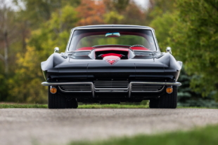 Sinister Restomod 1964 Corvette Blends Performance And Style