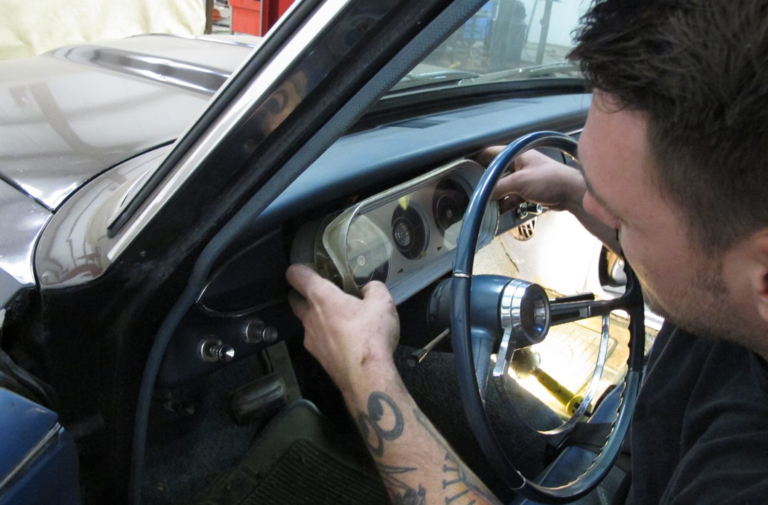 Throwback Thursday: Upgrading a Muscle Car Dash With Classic Dash