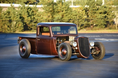 Factory Five's '35 Hot Rod Truck Available To Order Soon