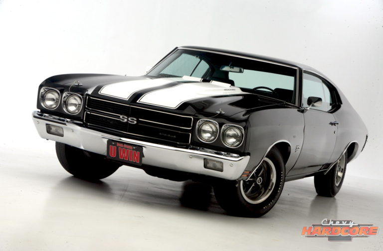 Someone Will Win This Chevelle. Get Your Tickets Now