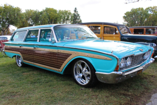 Country Squire Tire Fryer: Kevin Grani's '60 Ford Station Wagon