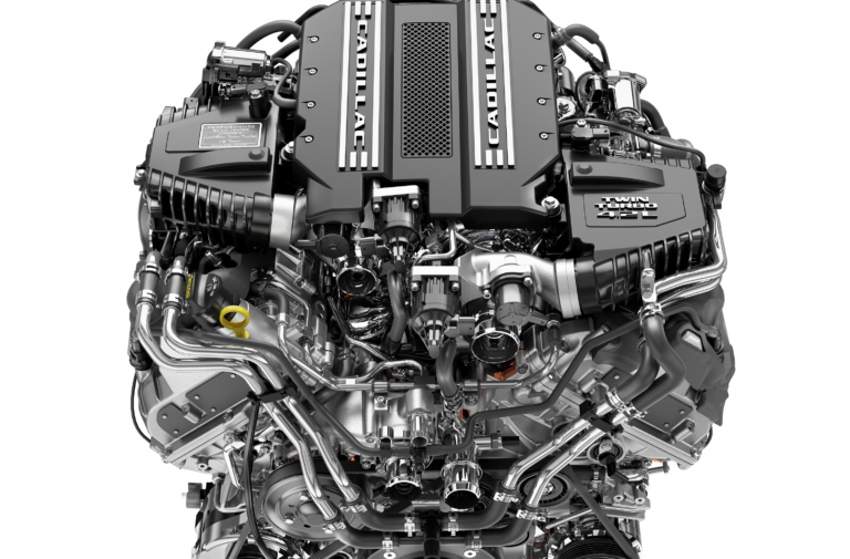 GM Debuts New Architecture, DOHC 4.2L 550hp Twin-Turbo V-8
