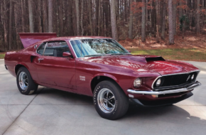 Rare Boss 429 Crosses The Auction Block Next Month!