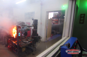 Video: 500-horse Pontiac 455 Catches Fire On Dyno At Nick's Garage