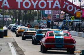 Blast from the Past: Muscle Cars invade Streets of Long Beach
