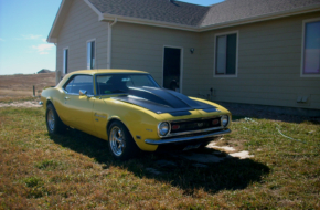 Home-Built Hero: This '68 Camaro Is A Long Distance Project