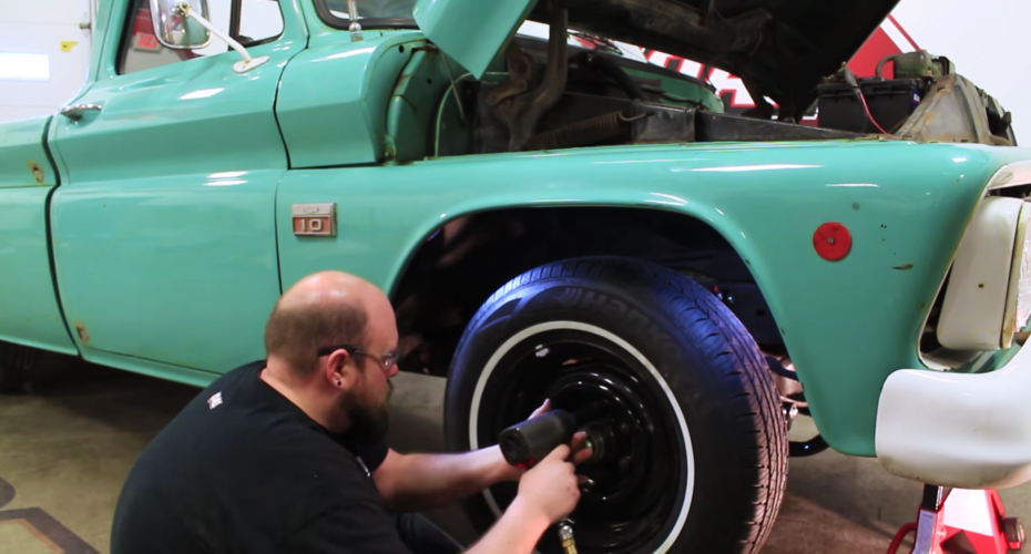 Install A '63-'87 Chevy C10 Front Suspension Like A Pro With QA1