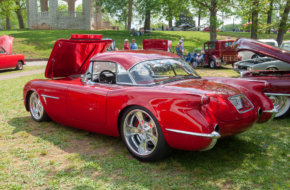Custom Chronicles: A 1954 Chevrolet Corvette Show Stopper