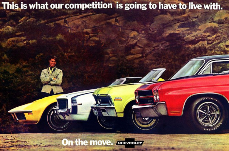 How Aggressive Marketing Fueled The Pony Car Wars