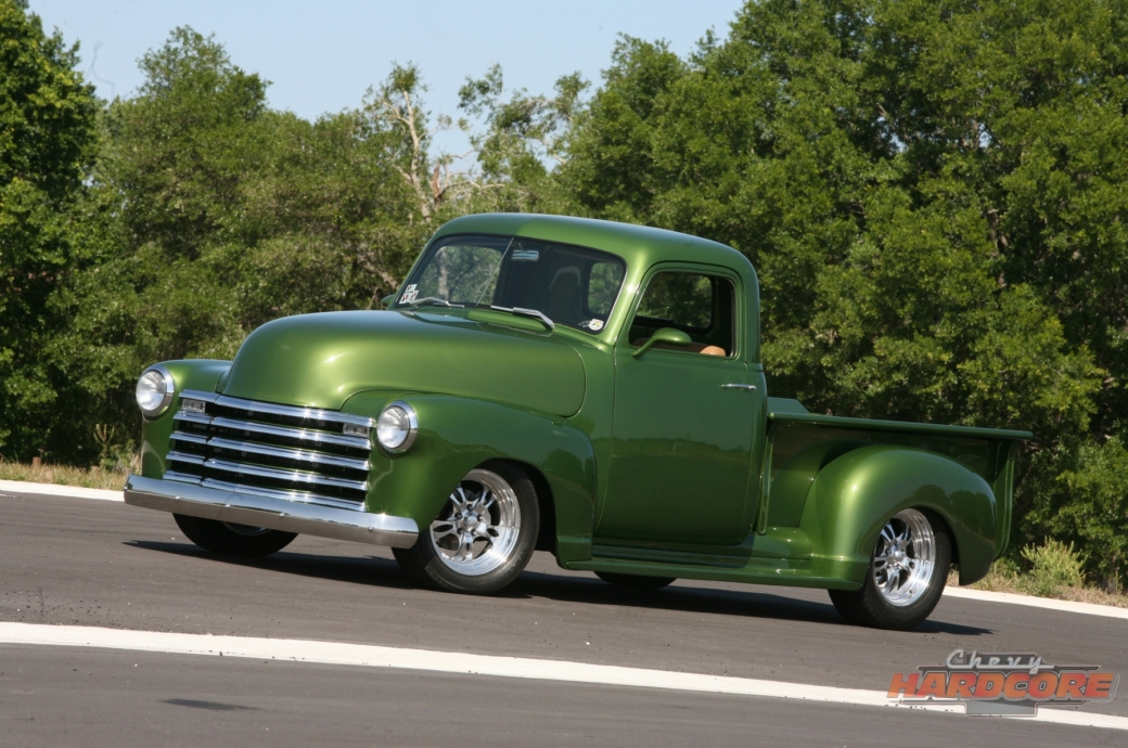This '49 Chevy Pickup Goes From Old-School To Over-The-Top Cool