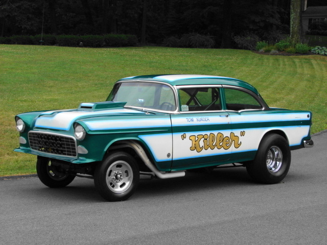 Super Cool 55' Chevy Gasser For Sale on eBay